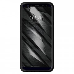 Liquid Air kryt Galaxy S9+ Matte Black (2)