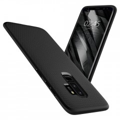 Liquid Air kryt Galaxy S9+ Matte Black (6)