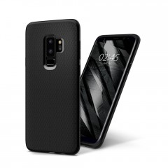 Liquid Air kryt Galaxy S9+ Matte Black (7)