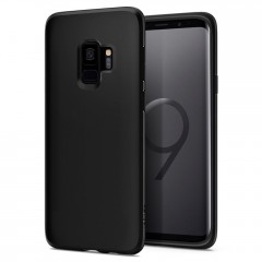 Liquid Crystal kryt Galaxy S9 Matte Black (1)