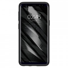 Liquid Crystal kryt Galaxy S9 Matte Black (2)