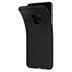 Liquid Crystal kryt Galaxy S9 Matte Black (7)