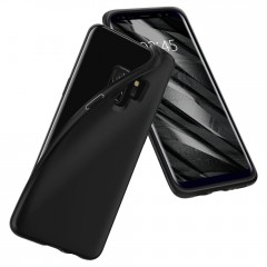 Liquid Crystal kryt Galaxy S9 Matte Black (8)