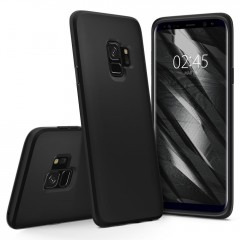 Liquid Crystal kryt Galaxy S9 Matte Black (9)