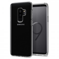 Spigen Liquid Crystal kryt Galaxy S9+ Crystal Clear