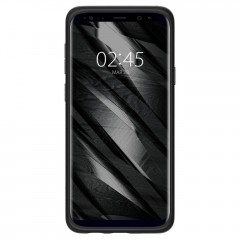Liquid Crystal kryt Galaxy S9+ Matte Black (2)