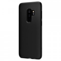 Liquid Crystal kryt Galaxy S9+ Matte Black (4)