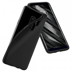 Liquid Crystal kryt Galaxy S9+ Matte Black (8)