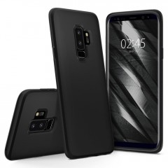 Liquid Crystal kryt Galaxy S9+ Matte Black (9)