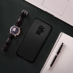 Liquid Crystal kryt Galaxy S9+ Matte Black (12)