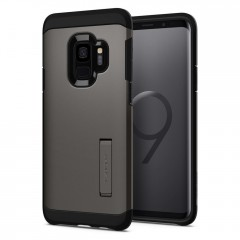 Spigen Tough Armor kryt Galaxy S9 Gunmetal
