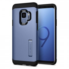 Spigen Tough Armor kryt Galaxy S9 Coral Blue