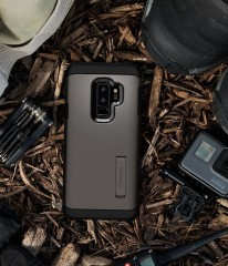 Tough Armor kryt Galaxy S9+ Gunmetal (12)