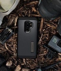 Tough Armor kryt Galaxy S9+ Graphite Gray (12)
